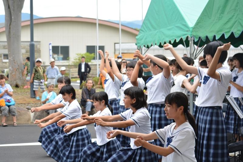 あさぎり町立岡原中学校